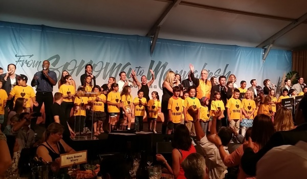 Fund the Future lot at Sonoma Harvest Wine Auction
