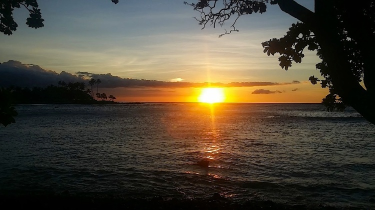 Big Island of Hawaii Sunset, Photos by Hayley Hamilton Cogill
